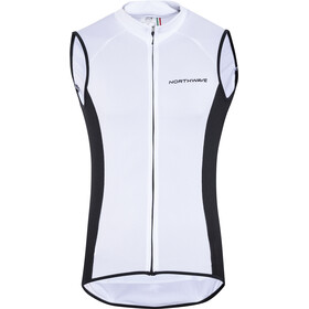Northwave Force Mouwlooos Jersey Hemd Heren, white
